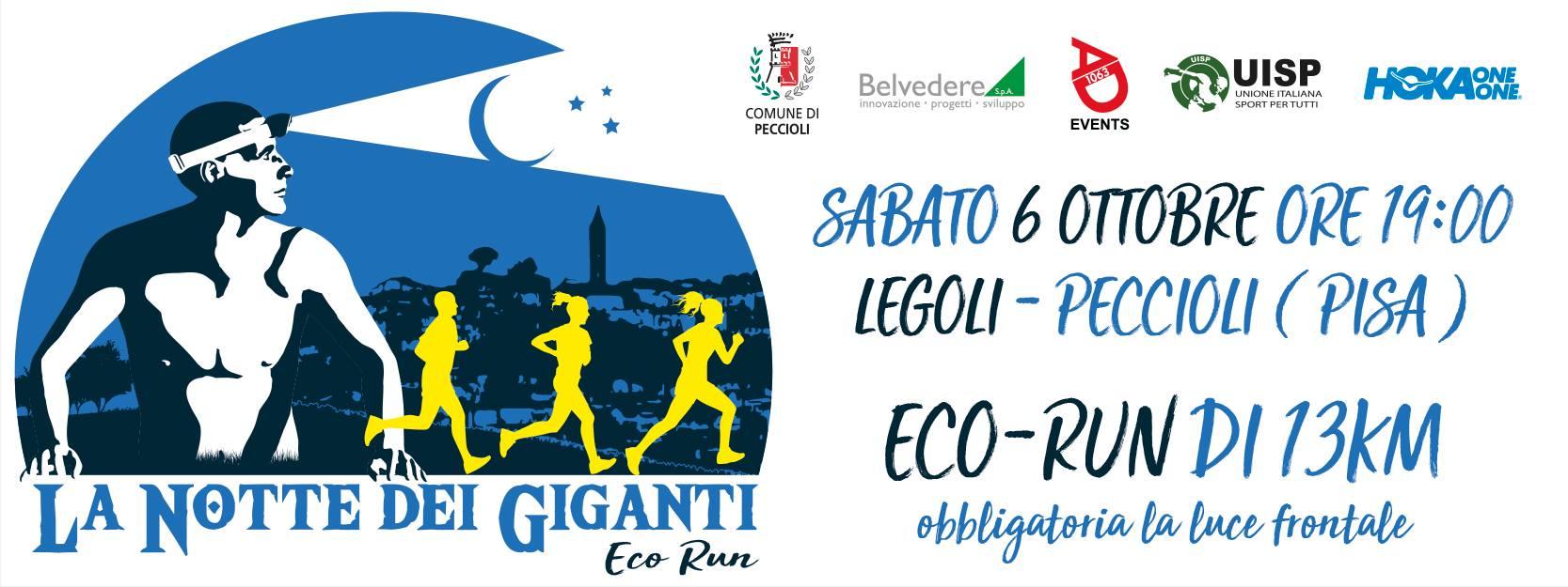 2° Eco Run & Walk – La Notte dei Giganti | Peccioli