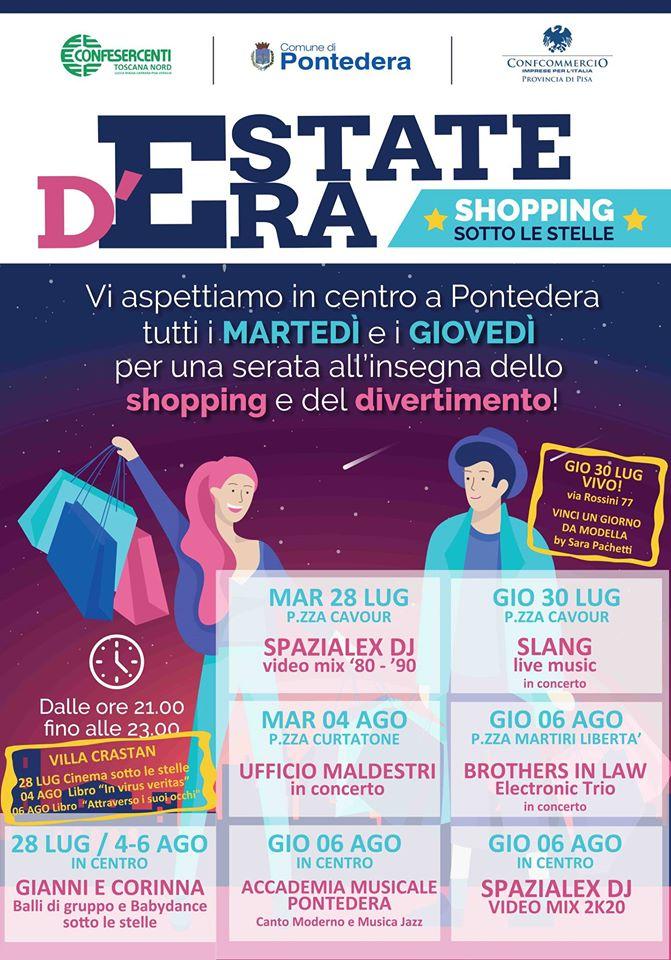 Estate d'Era – Shopping sotto le stelle   Pontedera