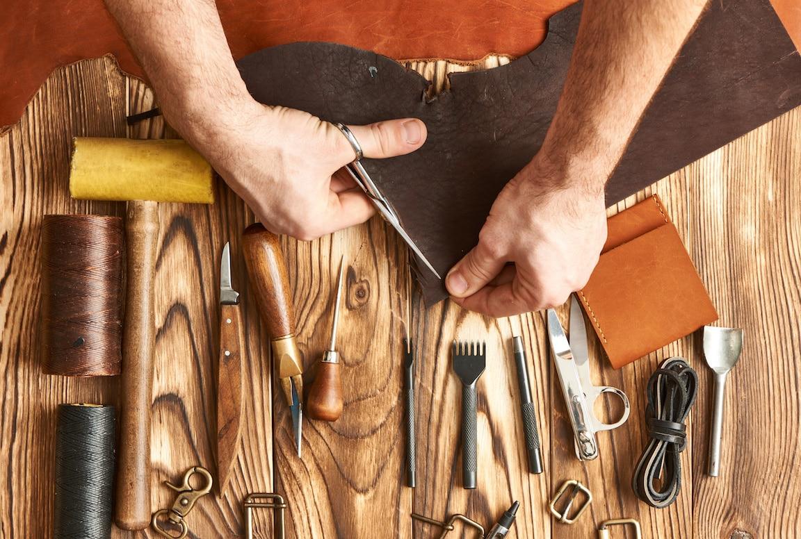 "Leather ""Made in Terre di Pisa"""