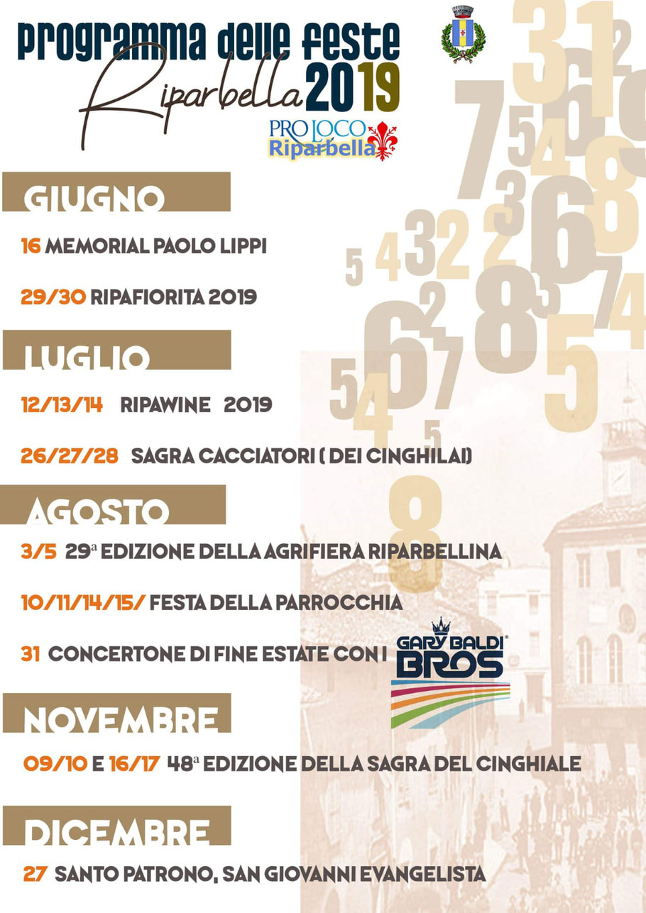 Summer events in Riparbella