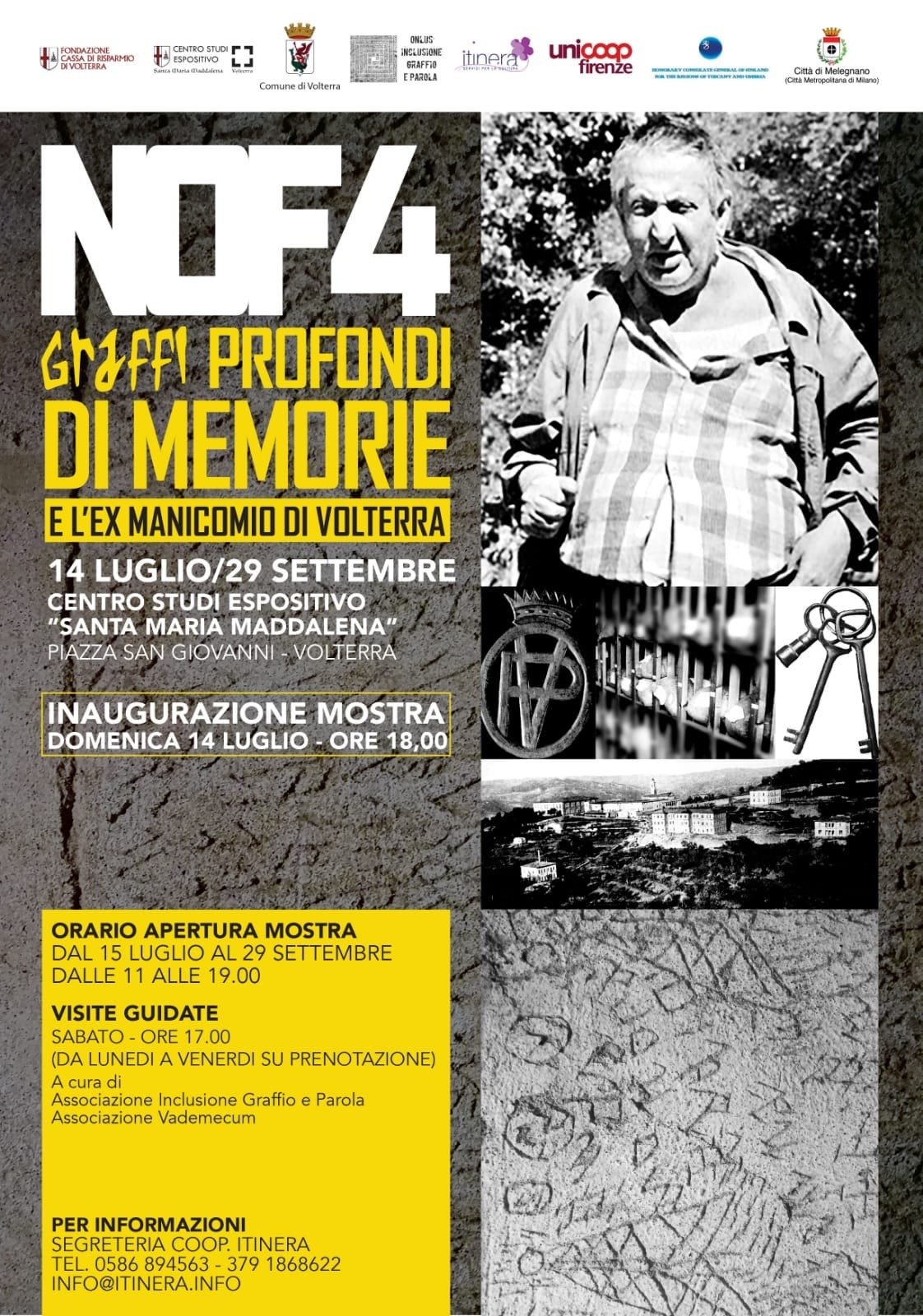 NOF4 Graffi Profondi di Memorie | Volterra