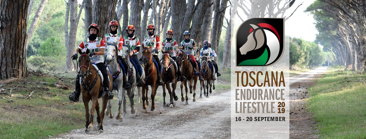 Toscana Endurance Lifestyle in San Rossore Nature Park | Pisa