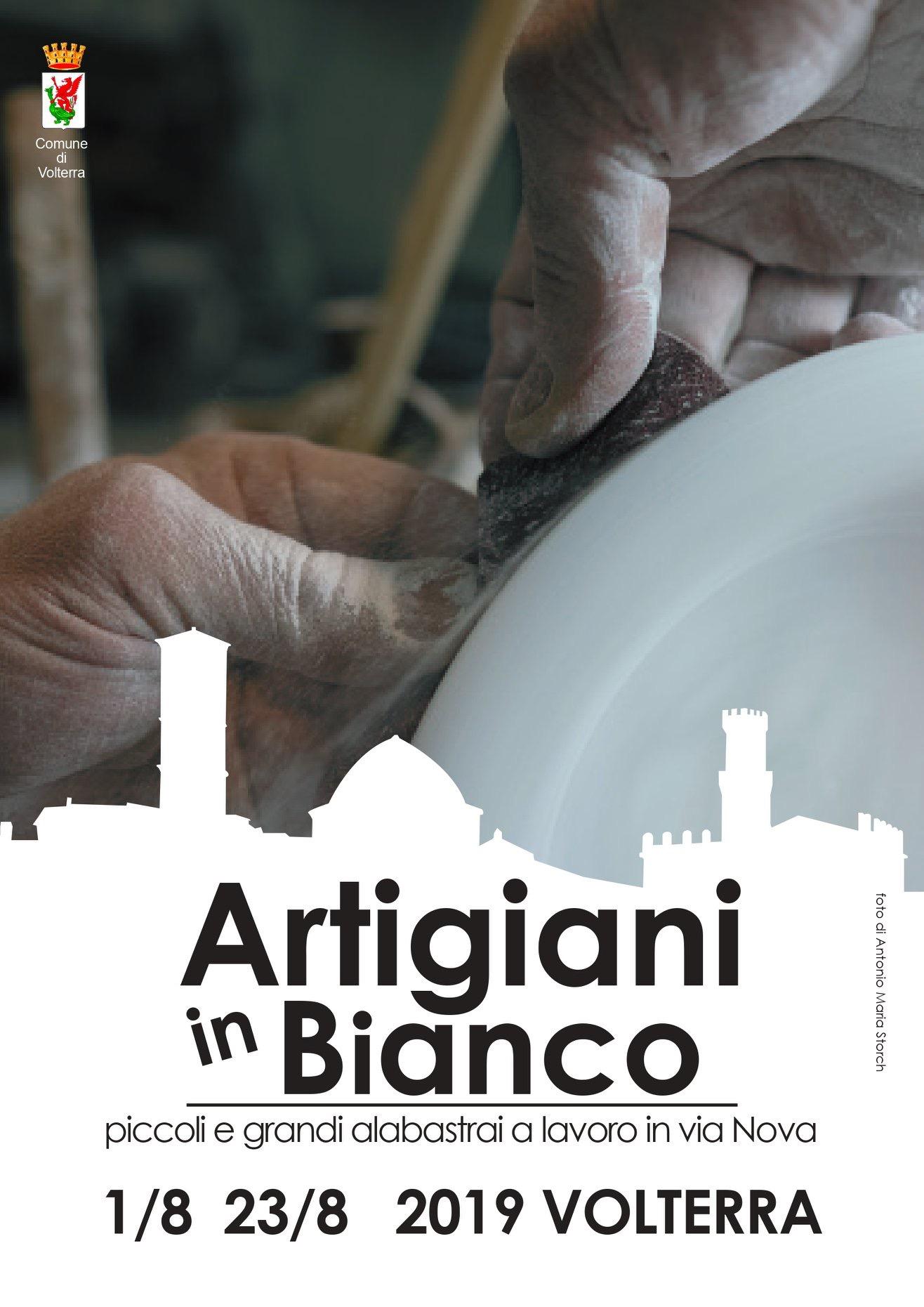 Artigiani in bianco | Volterra