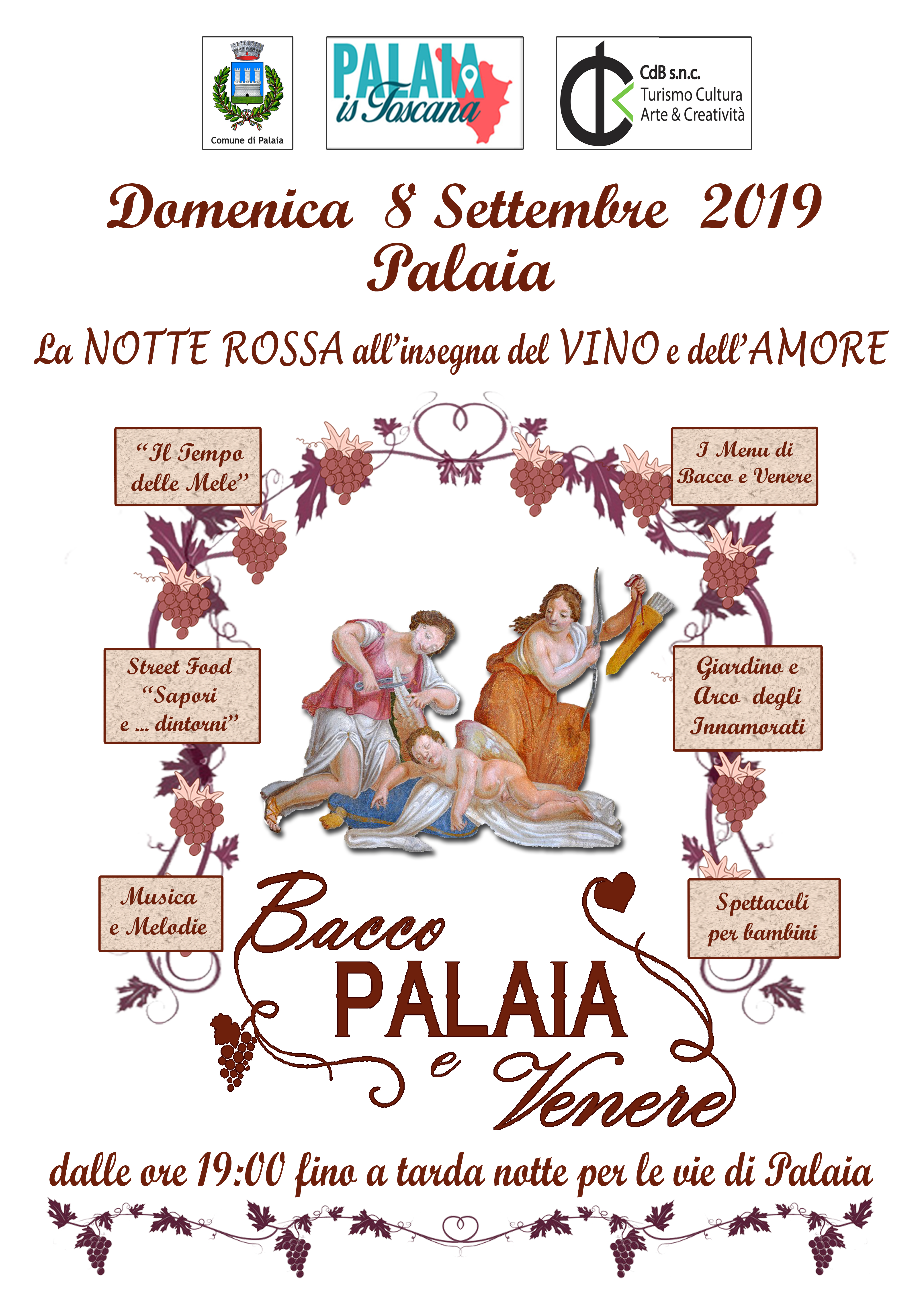 Bacchus, Tobacco and Venus – the Red Night in Palaia