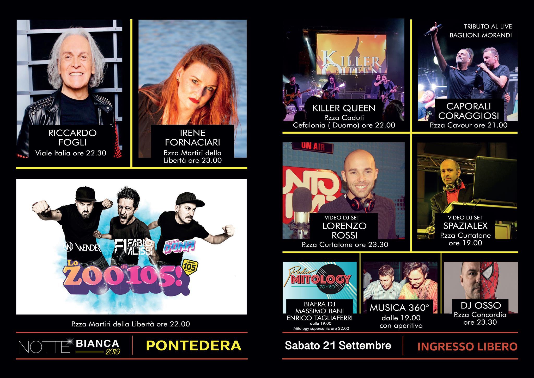 Notte Bianca – White Night | Pontedera