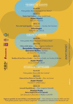 24° Festival Toscano di Musica Antica | Pisa e Cascina