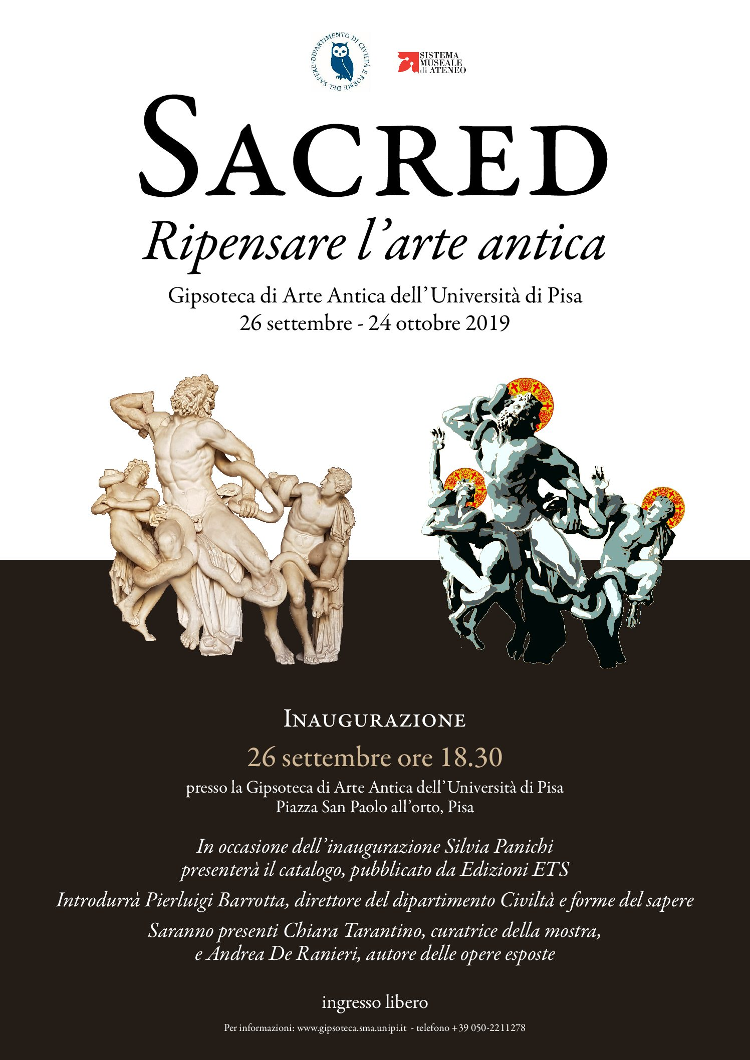 "Exhibition ""Sacred: rethinking the ancient Art"" 
