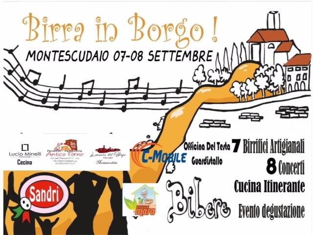2° Birra in Borgo | Montescudaio