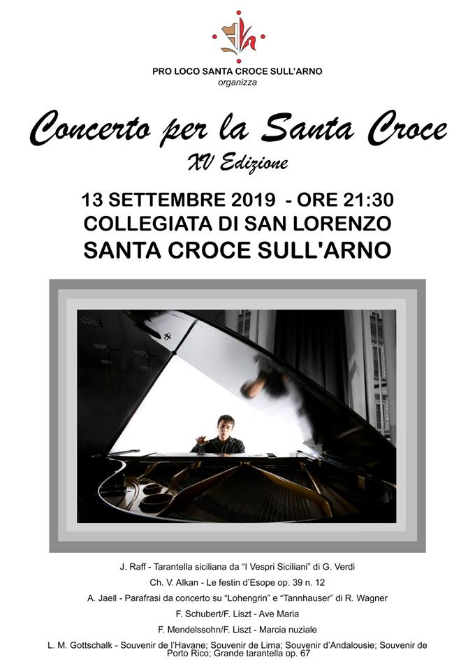 Concert for the Holy Cross, 15th edition| Santa Croce sull'Arno