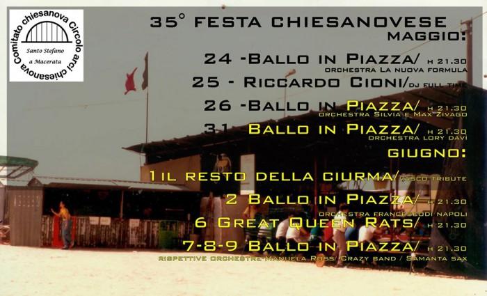 36° Festa Chiesanuovese | Santo Stefano a Macerata, Cascina