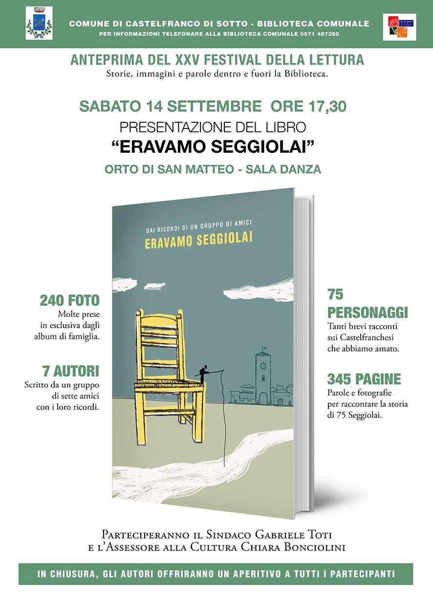 Anteprima 25° Festival della Lettura | Castelfranco di Sotto