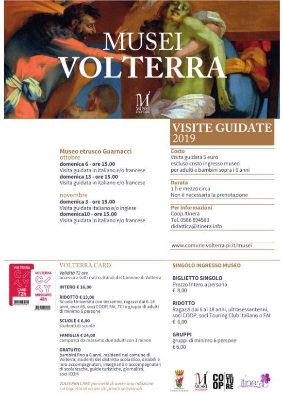Visite guidate ai Musei di Volterra