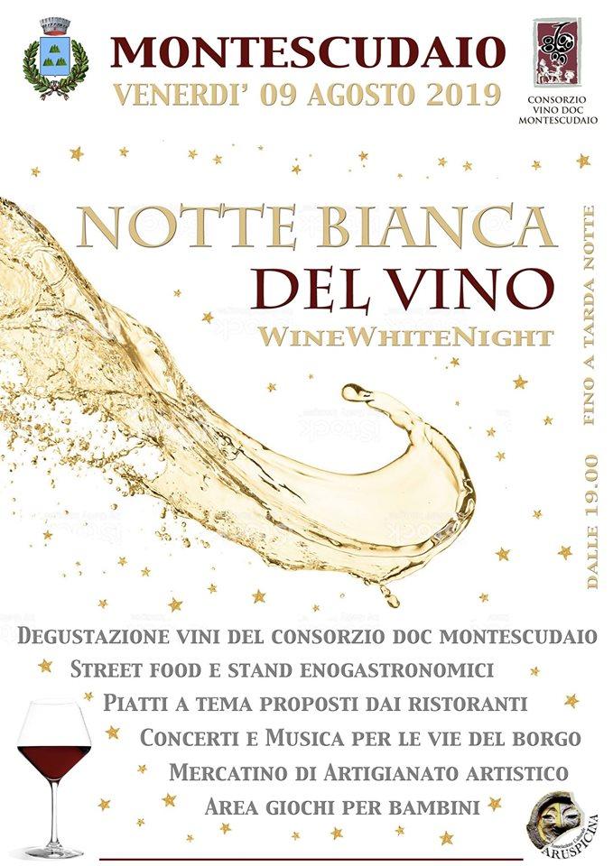 Notte bianca del vino DOC Montescudaio