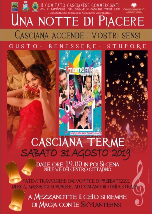 Una notte di piacere | Casciana Terme