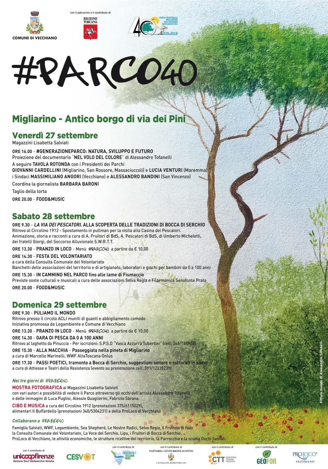#Parco40 – Migliarino Feast in the Park | Vecchiano