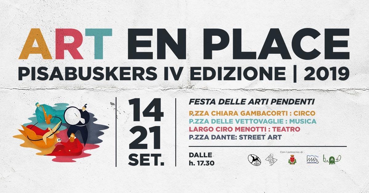 4° Pisa Buskers, Art en Place