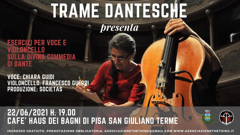 """Festival """"Trame Dantesche""""   San Giuliano Terme"""