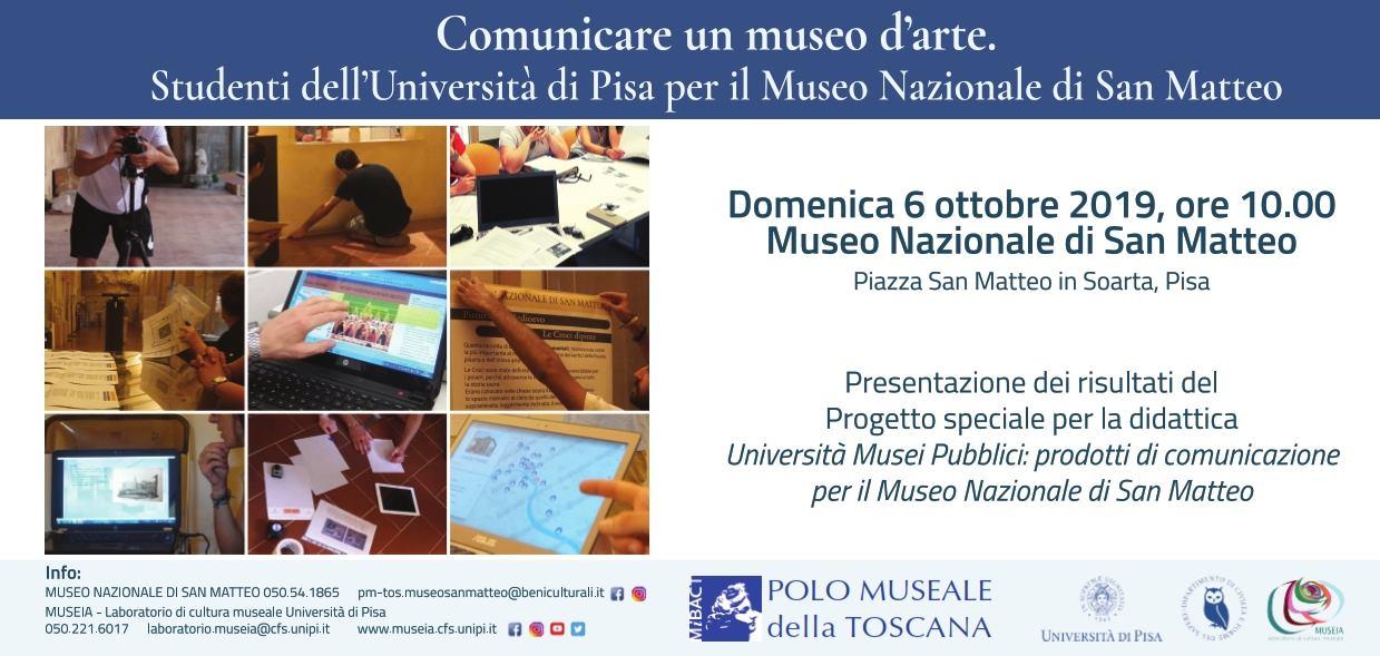 Sundays at Museum   Calci, Charterhouse and National Museum of San Matteo (Pisa)
