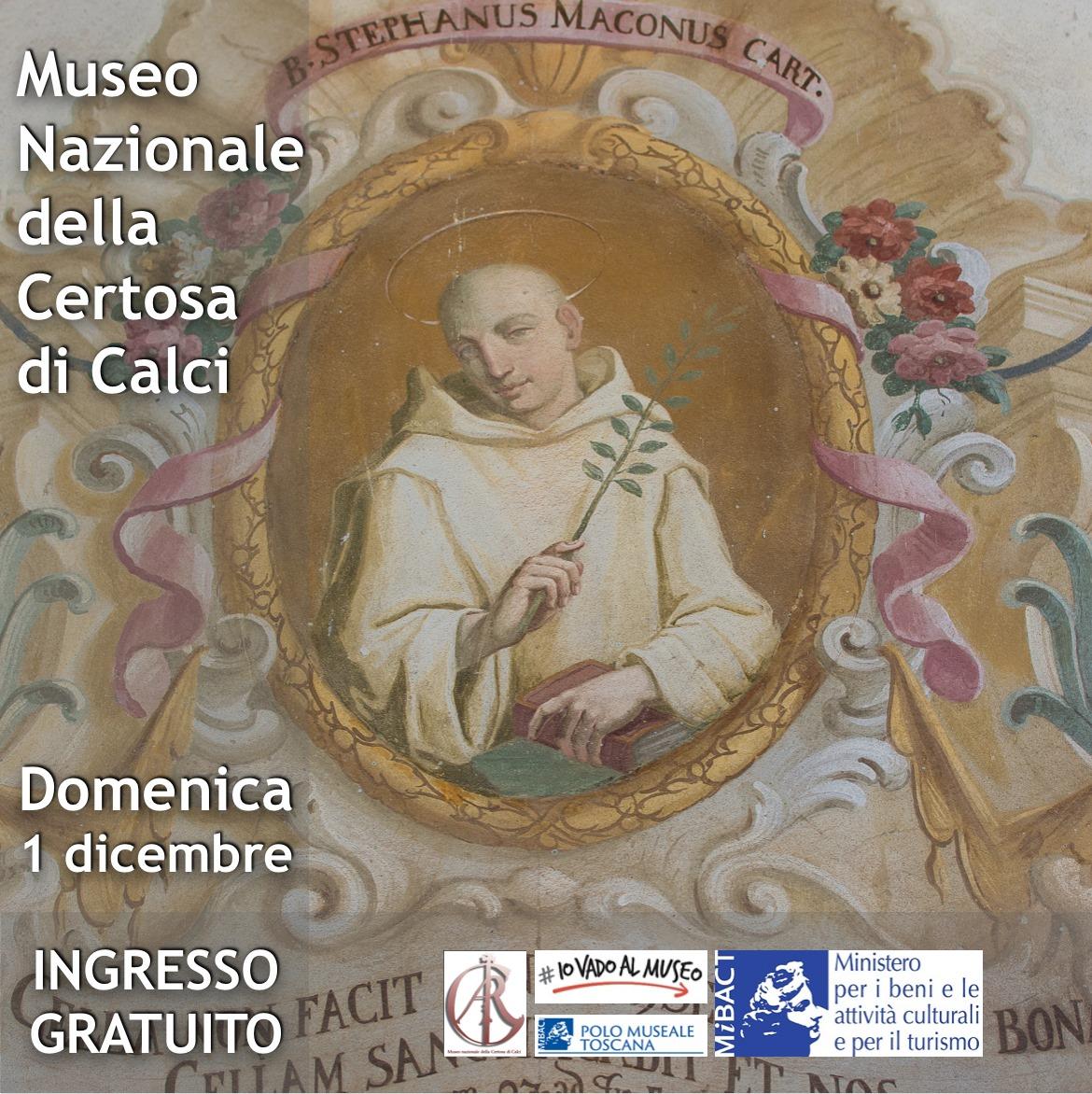 Domenica al Museo – Certosa di Calci e Museo Nazionale San Matteo di Pisa