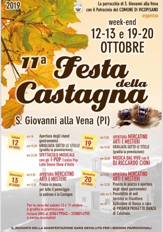 11° Festa della Castagna | San Giovanni alla Vena, Vicopisano