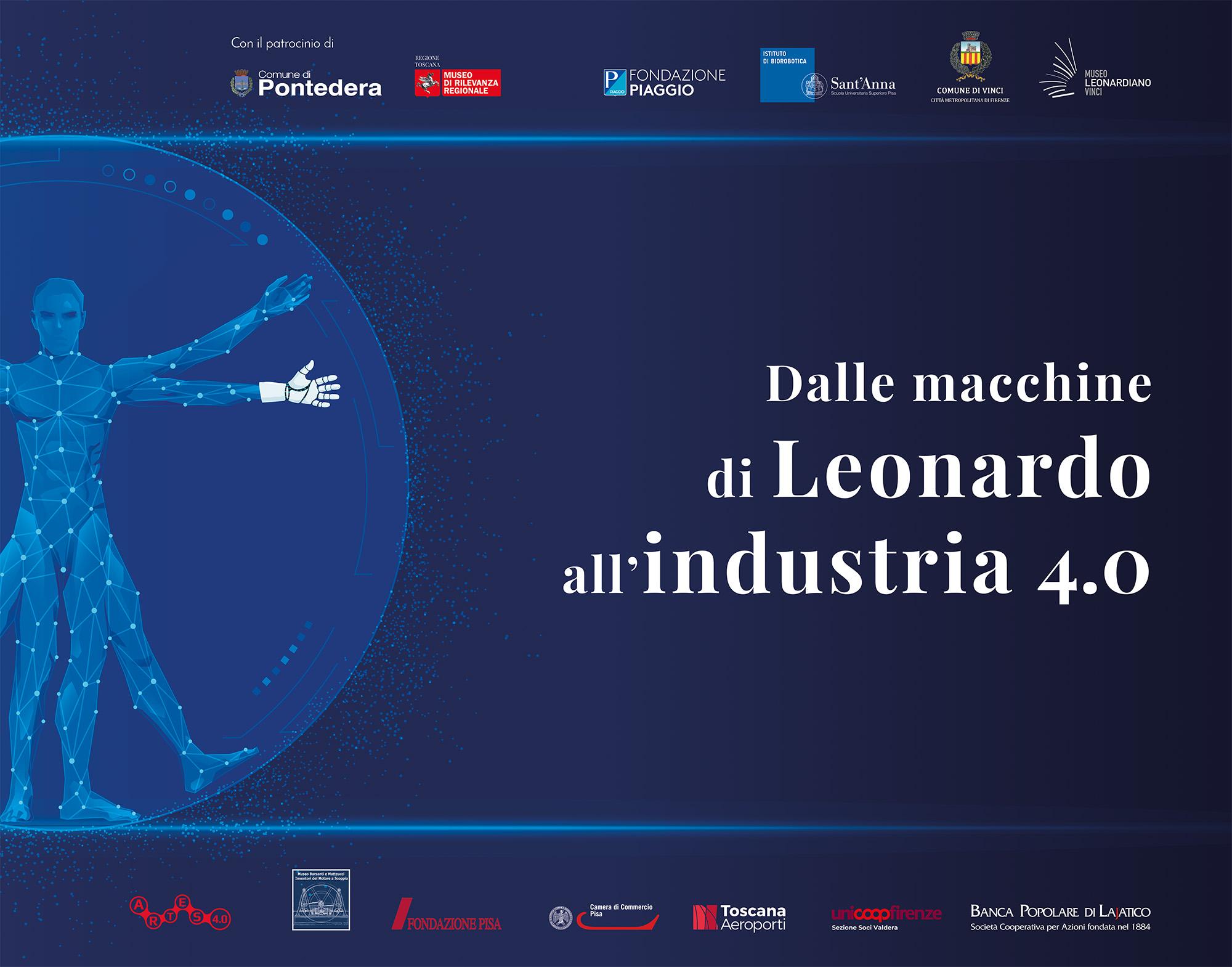 "Exhibition ""From Leonardo's machines to the Industry 4.0"" | Piaggio Museum, Pontedera"