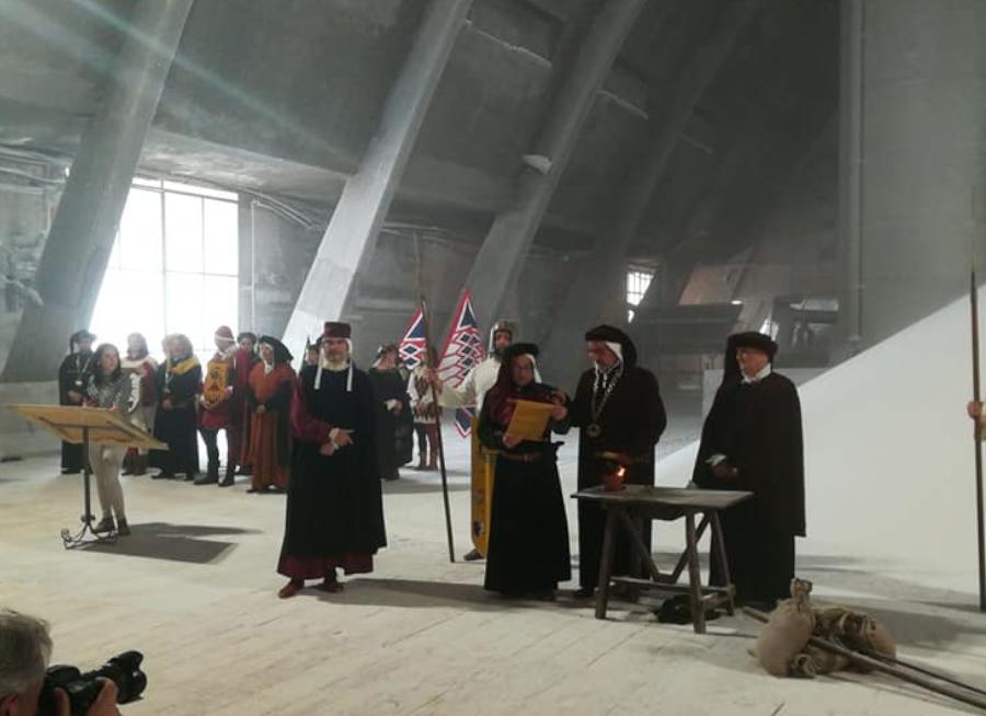 Apertura della Salina Locatelli   Saline di Volterra