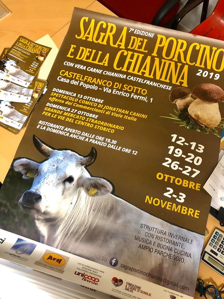 7° Sagra della chianina e del fungo porcino  | Castelfranco di Sotto