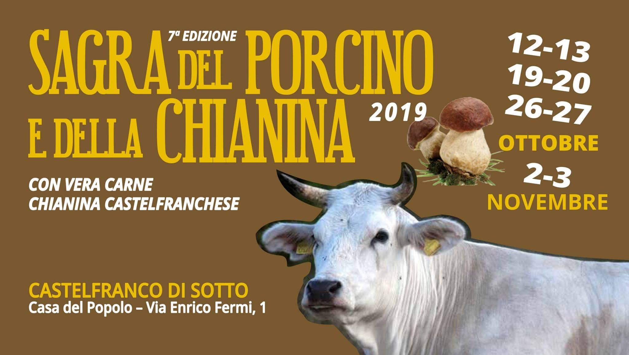 Sagra della chianina e del fungo porcino  | Castelfranco di Sotto