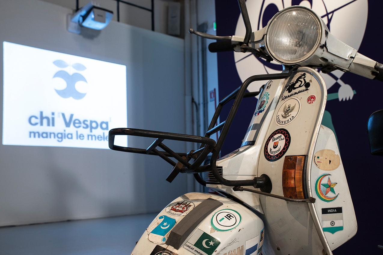 """""""Vespizzatevi"""" Mostra al Museo Piaggio  Pontedera"""