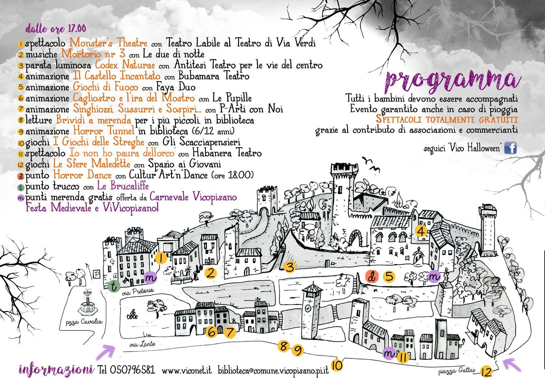 Vico Halloween | Vicopisano