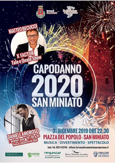 New Year's Eve in San Miniato