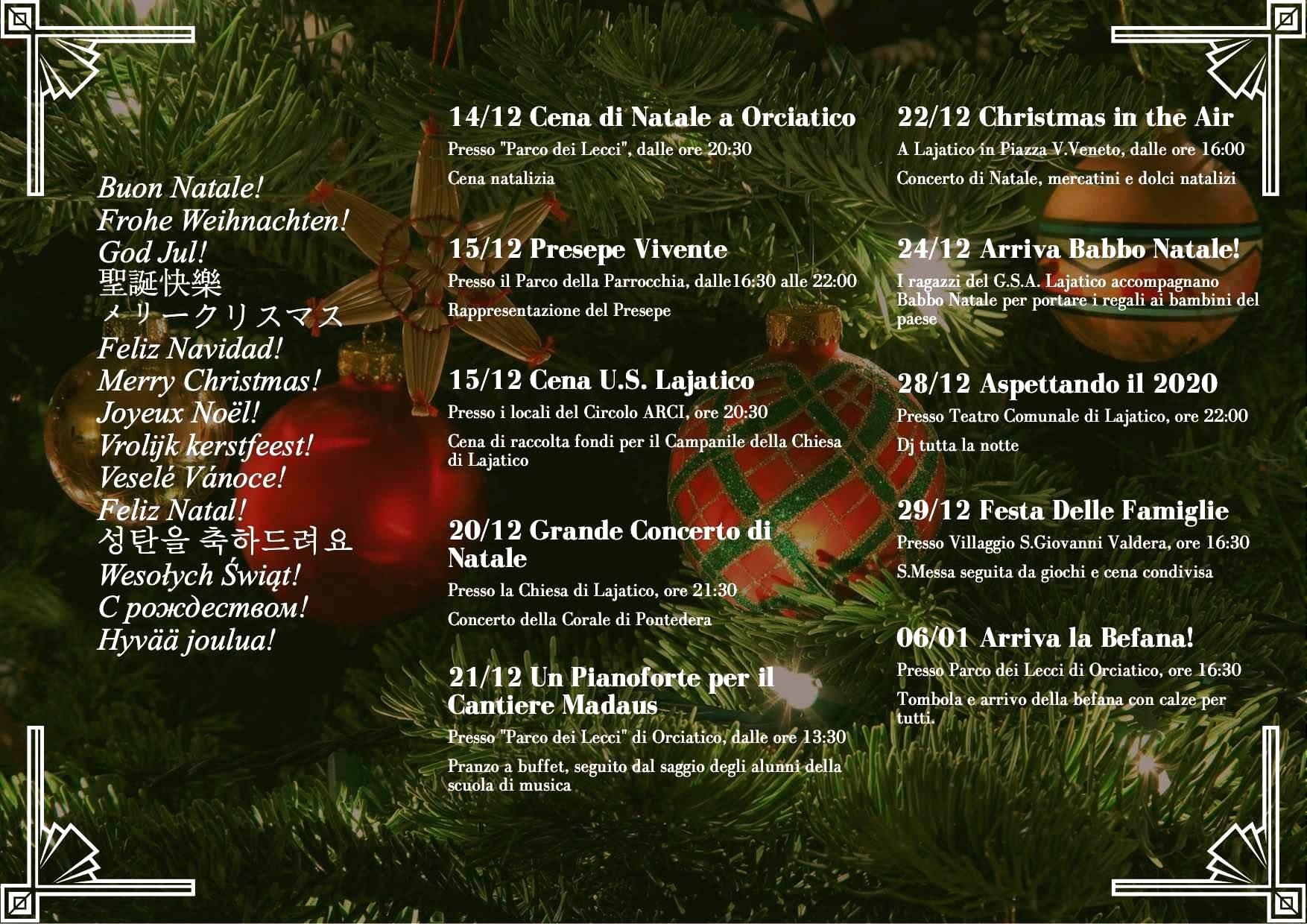Natale a Lajatico