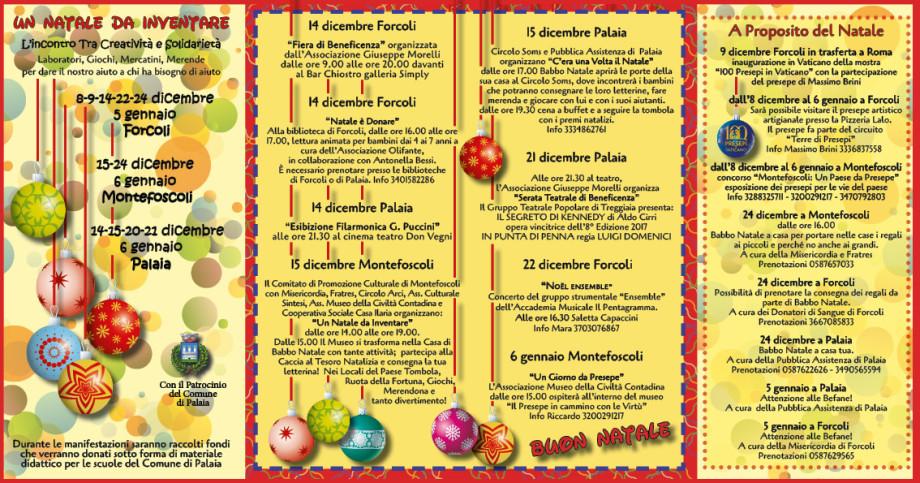 Palaia: Un Natale da inventare