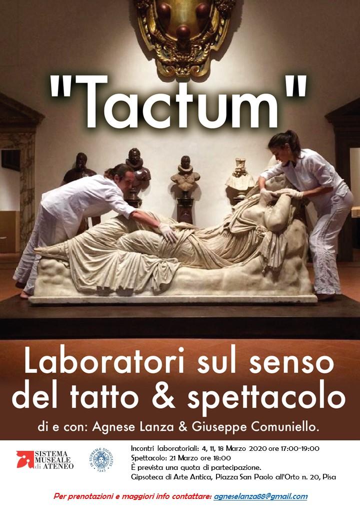 """""""Vietato toccare"""" – laboratori sul senso del tatto e dello spettacolo in Gipsoteca   Pisa"""
