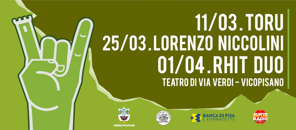 1° Rocca'n'Roll Acoustic Festival | Vicopisano   ANNULLATA