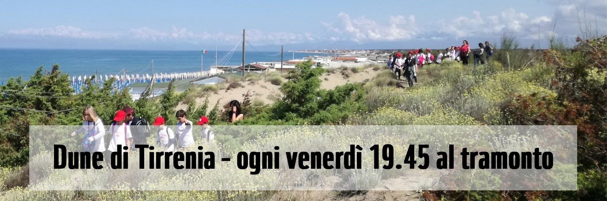 Visite guidate in agosto all'Oasi WWF Dune di Tirrenia | Pisa