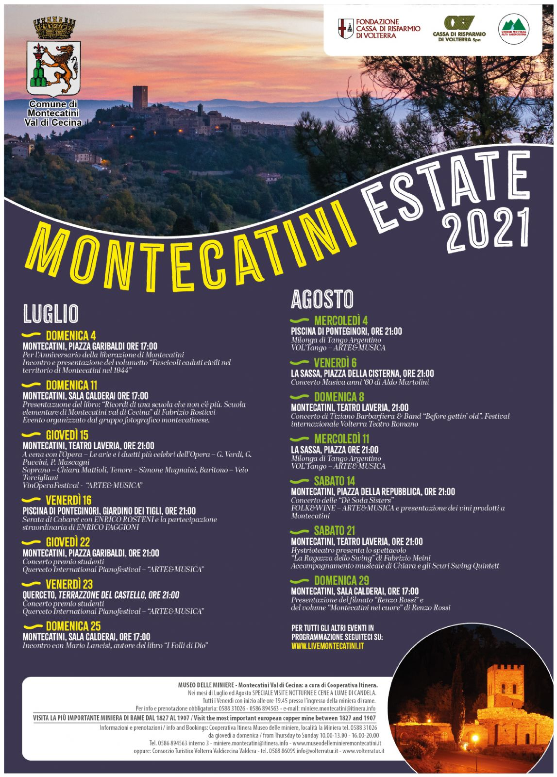 Summer in Montecatini Val di Cecina