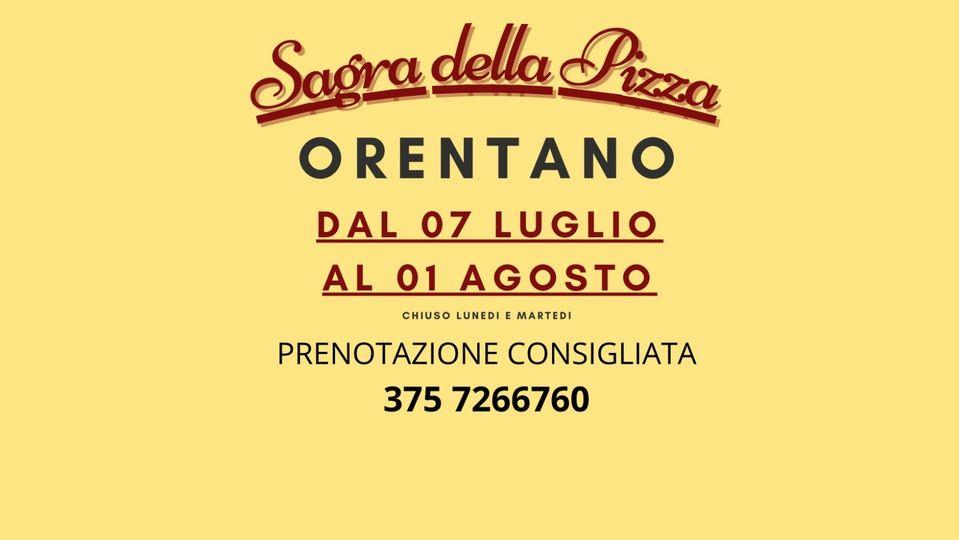 Sagra della pizza | Orentano, Castelfranco di Sotto